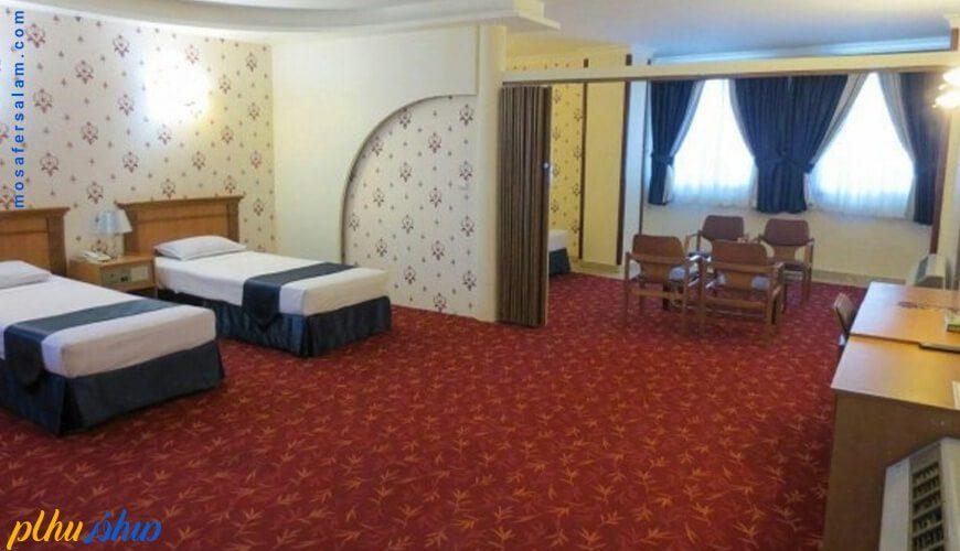 اتاق هتل جم مشهد