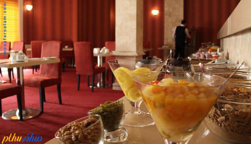 رستوران هتل جم مشهد