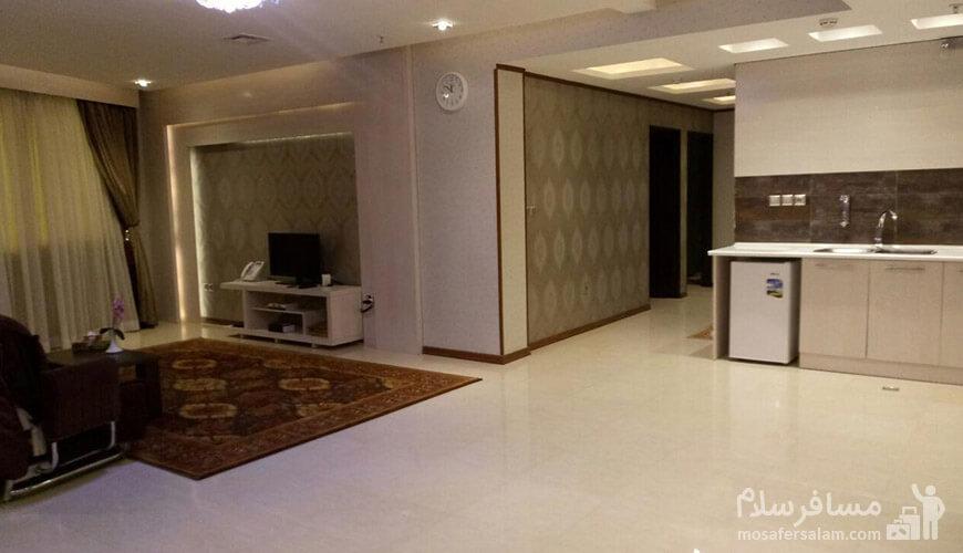 تصاویری از اتاق های هتل سیمرغ فیروزه