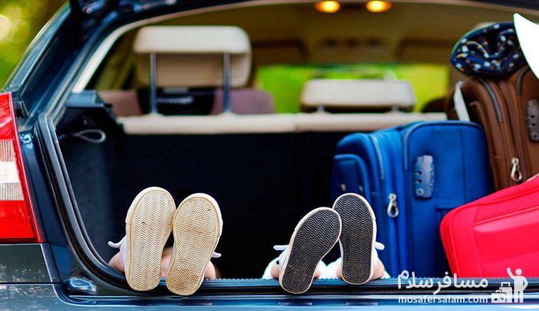 سفر با ماشین، سفر به مشهد، مسافرسلام