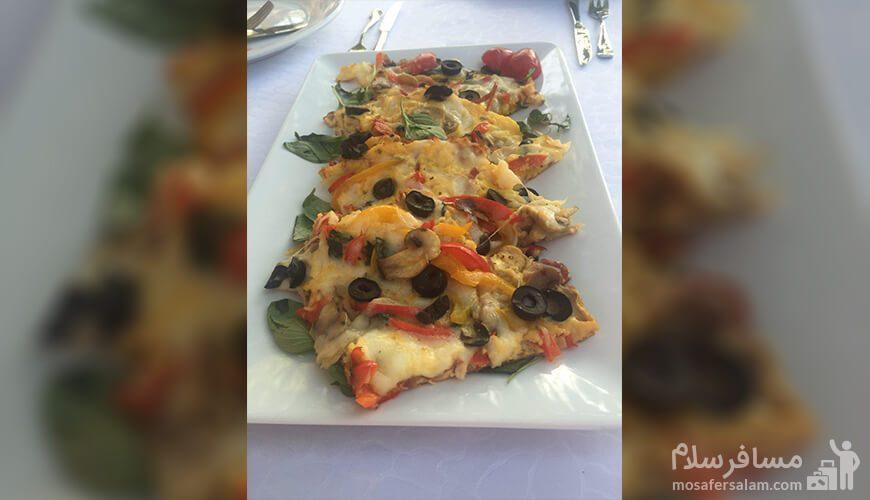غذای هتل بلوط تهران