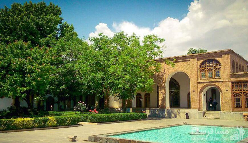 عمارت تاریخی آصف، خانه کرد، رزرواسیون مسافر سلام