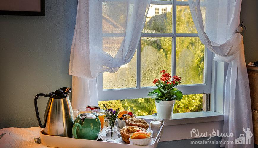 چطور صبحانه در هتل الماس 2 روز شما را متحول میسازد؟