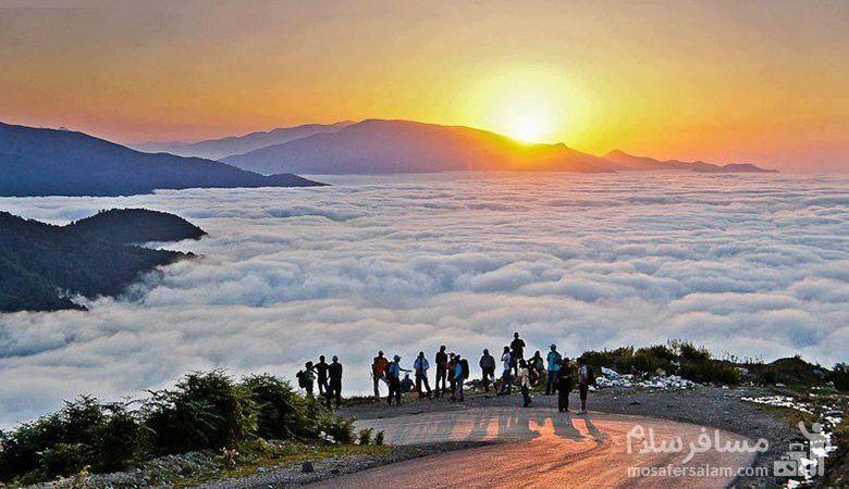 سفر به سرزمین ابرها