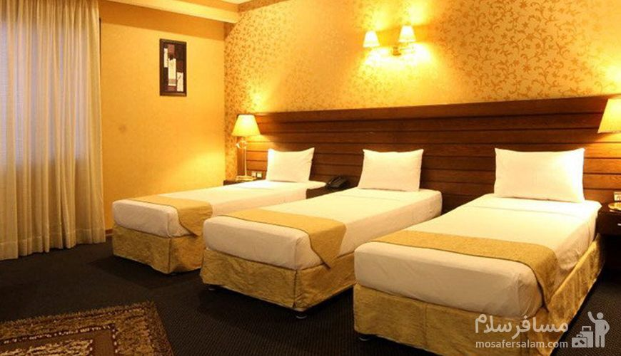 اتاق سه نفره هتل توحید نوین مشهد