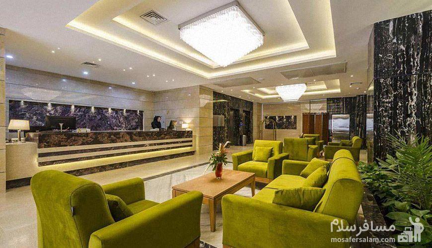 تور مشهد با اقامت در هتل حیات شرق مشهد