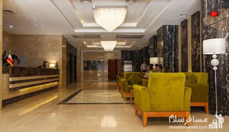 تور هتل حیات شرق مشهد، رزرواسیون مسافرسلام