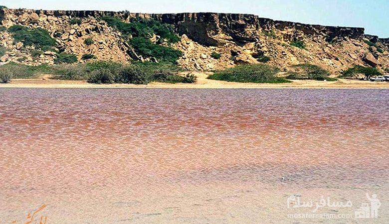 تالاب و دریاچه صورتی لیپار