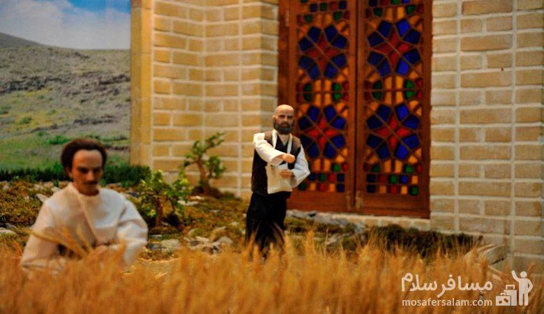 کشاورزی در موزه نان مشهد