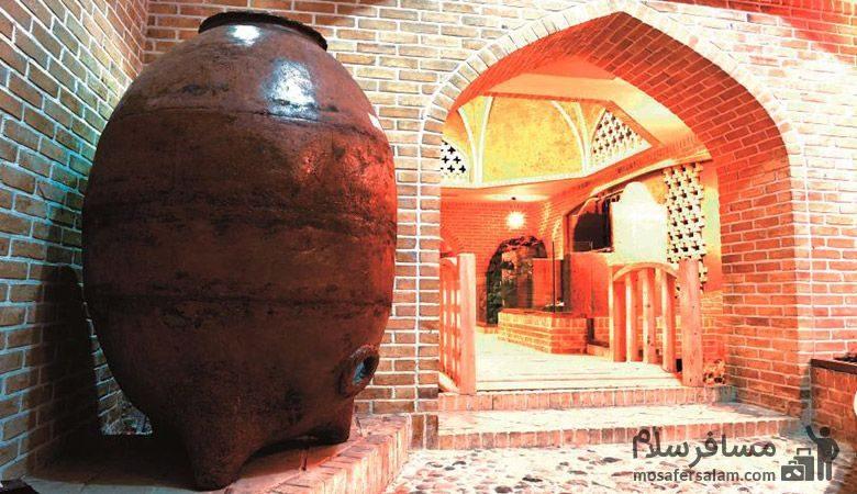 کوزه بزرگ موزه نان مشهد