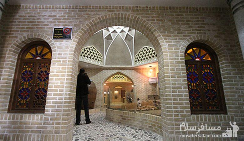 عکاسی در موزه نان مشهد