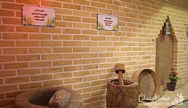 وسایل نانوایی در موزه نان مشهد