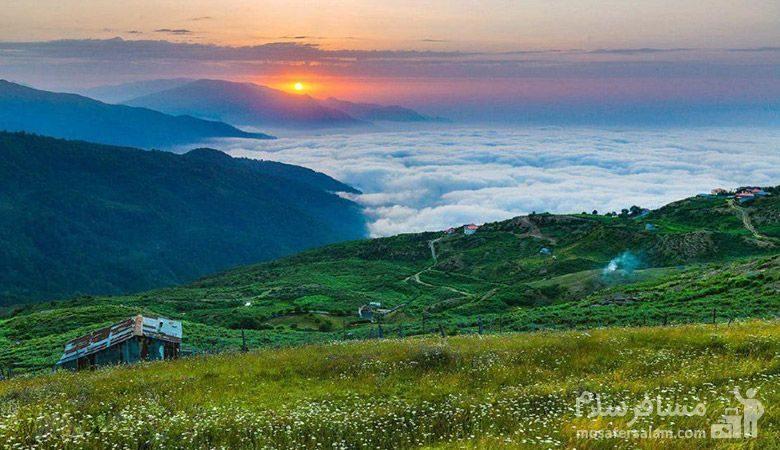 گردشگری در فیلبند مازندران