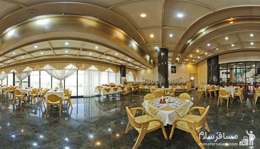 رستوران هتل پارس ائل گلی تبریز