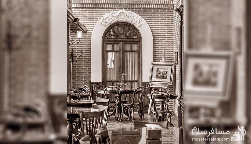 اولین کافه در باغ شهر ایران