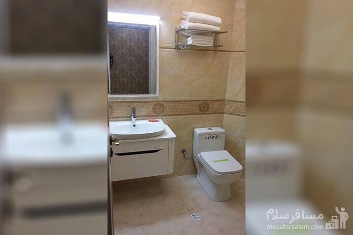 هتل آزادی تبریز، سرویس بهداشتی