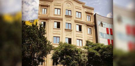 هتل آزادی تبریز، نمای بیرون