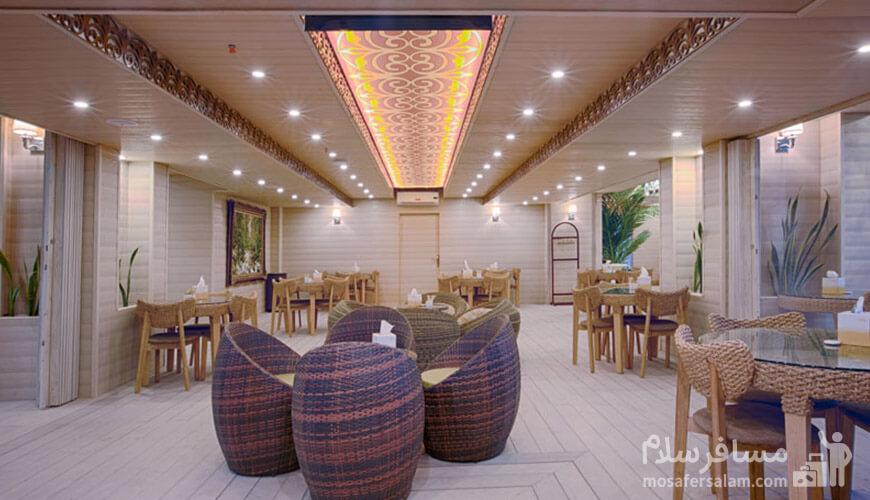 کافه رستوران روف گاردن
