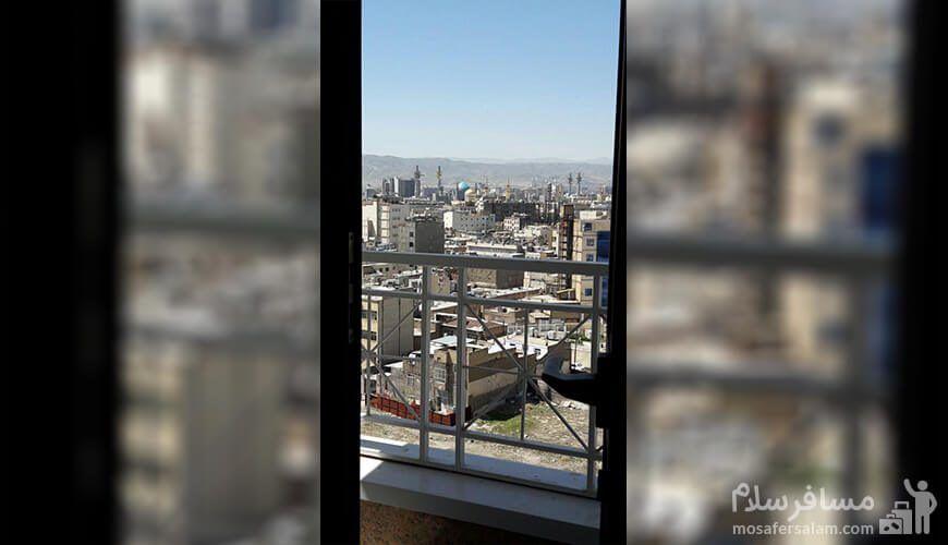 هتل آپارتمان حریرستان مشهد، رزرواسیون مسافر سلام