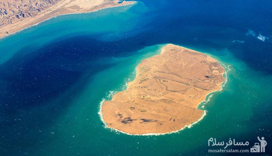 جزیره هندورابی کیش, جزیره کیش