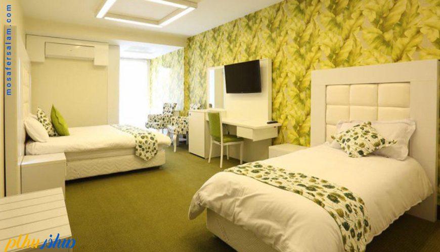 اتاق هتل بلوط تهران