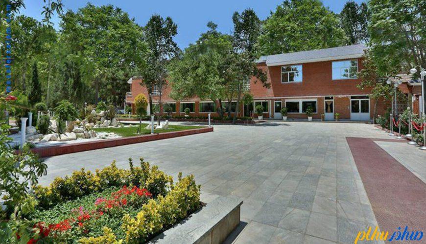 فضای باز هتل بلوط تهران