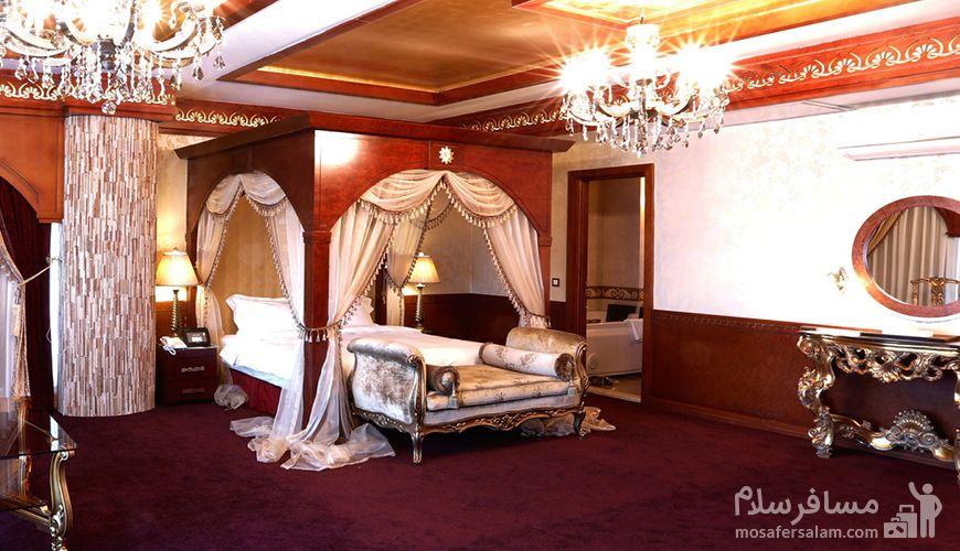 هتل مجلل درویشی, رزرواسیون مسافر سلام