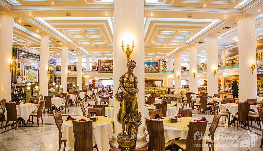 هتل بین المللی قصر, رستوران قصر