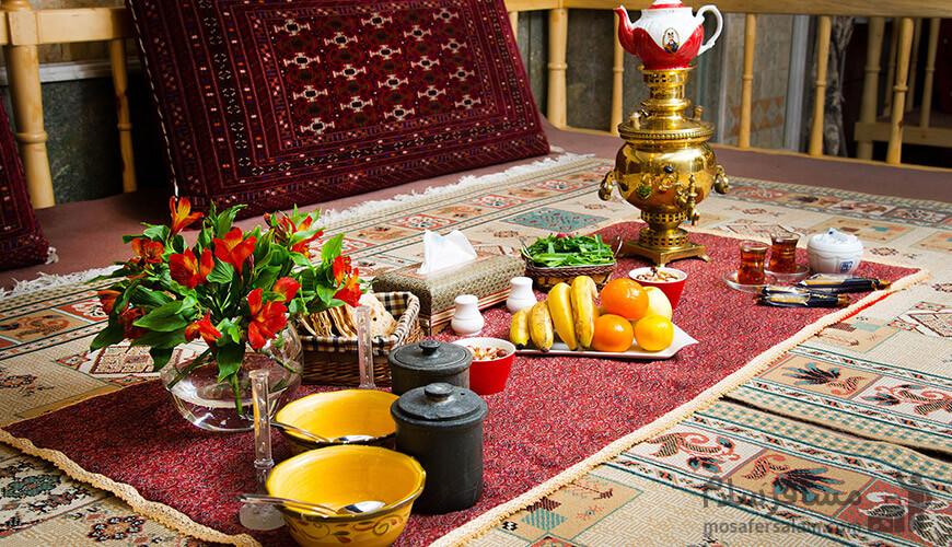 رستوران سنتی رز, هتل بین المللی قصر, رزرواسیون مسافر سلام