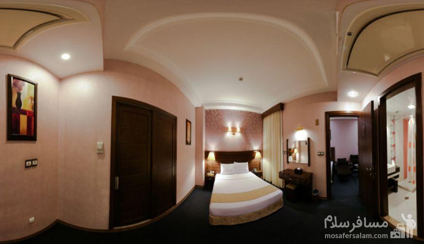 اتاق دو نفره هتل توحید نوین, رزرواسیون مسافر سلام