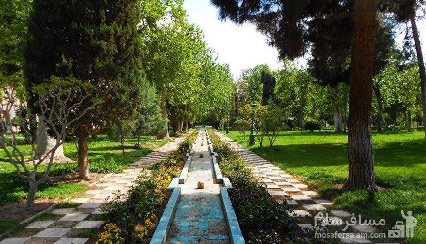 نمایی از پارک لاله