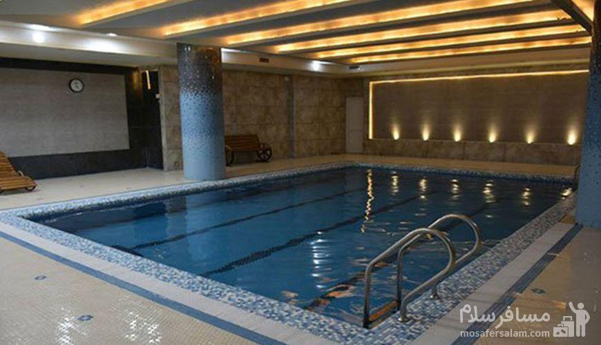 استخر هتل, استخر هتل پارسیس مشهد, رزرواسیون مسافر سلام