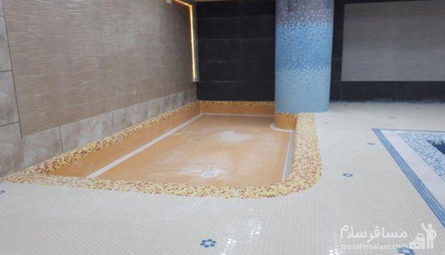 حوضچه آب سرد هتل پارسیس, استخر هتل پارسیس مشهد