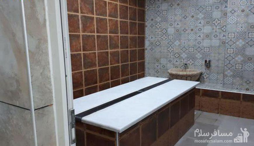 حمام ترکی هتل پارسیس, استخر هتل پارسیس مشهد, رزرواسیون مسافر سلام