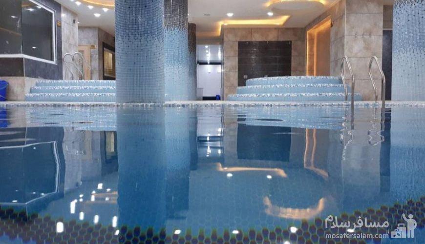استخر هتل پارسیس مشهد