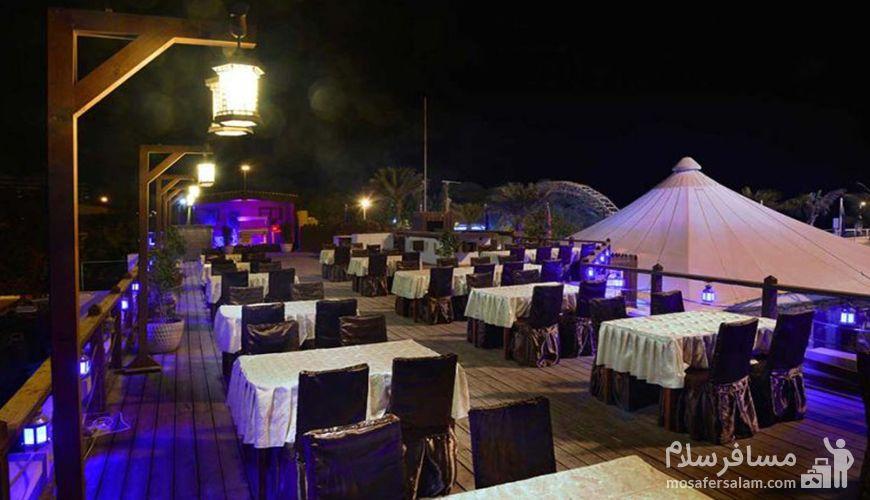 رستوران توتی فروتی جزیره کیش
