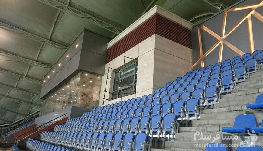 صندلی های ورزشگاه