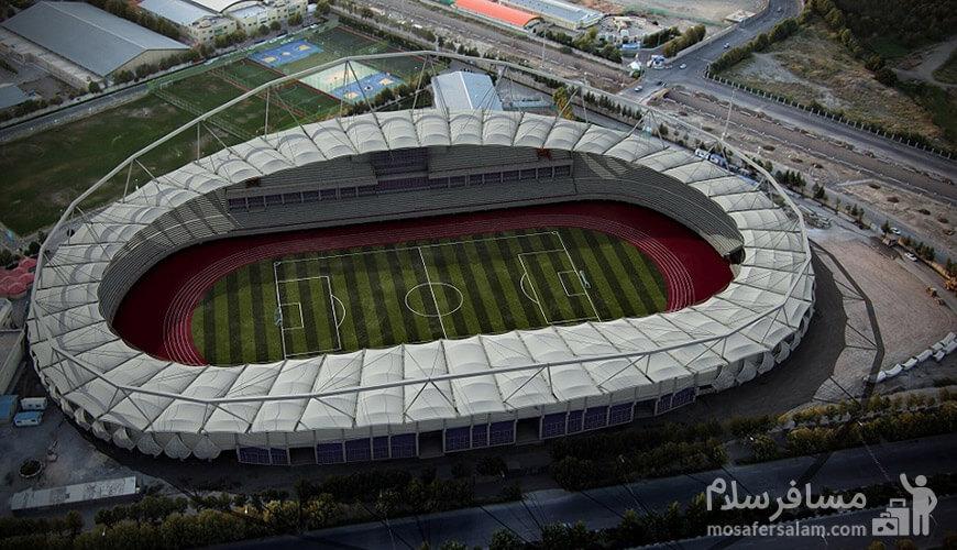 عکس ورزشگاه امام رضا مشهد