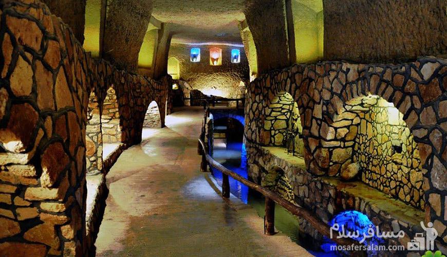 تور کیش از مشهد | شهر زیرزمینی کاریز