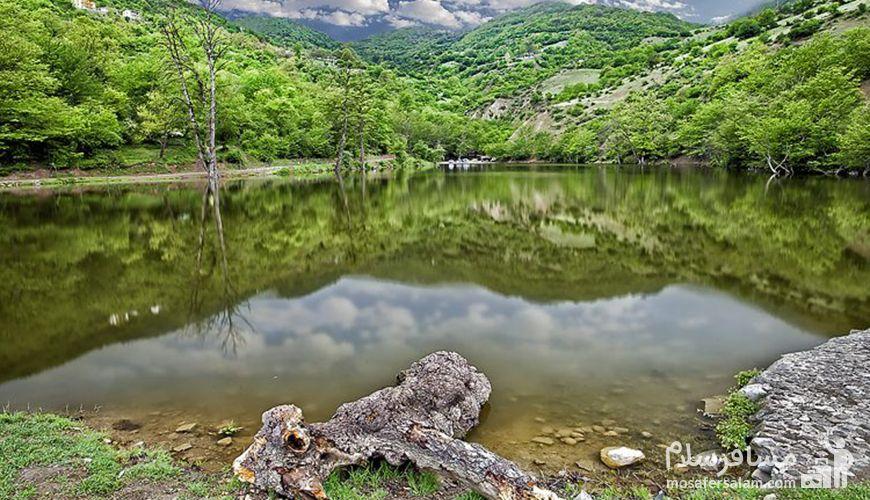 دریاچه شورمست سفر به تاج سرسبز ایران