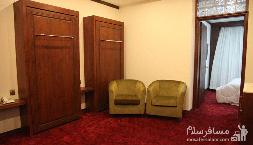 هتل آدینا مشهد اتاق یکخوابه