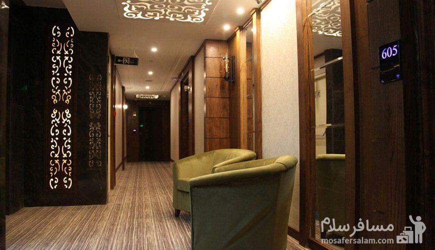 هتل آدینا مشهد راهرو لابی
