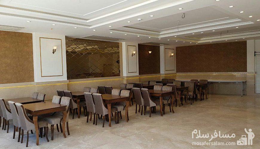 هتل نسیم مشهد رستوران