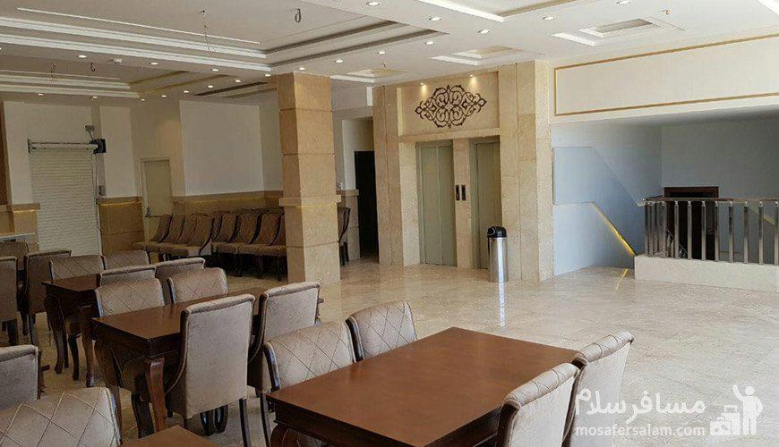 هتل نسیم مشهد فضای رستوران