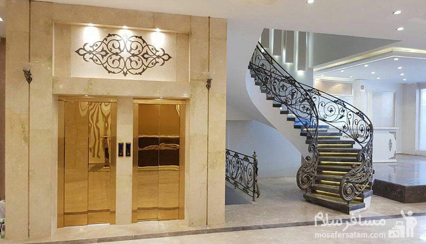هتل نسیم مشهد آسانسور لابی