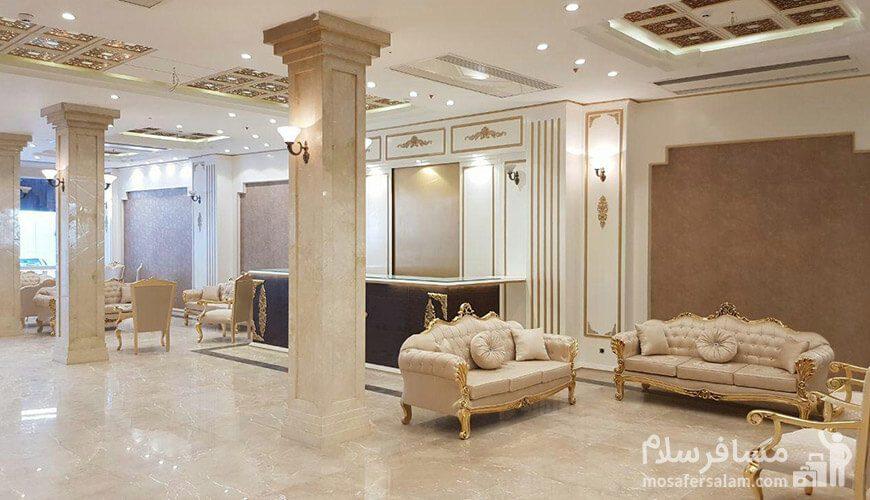 هتل نسیم مشهد لابی لوکس