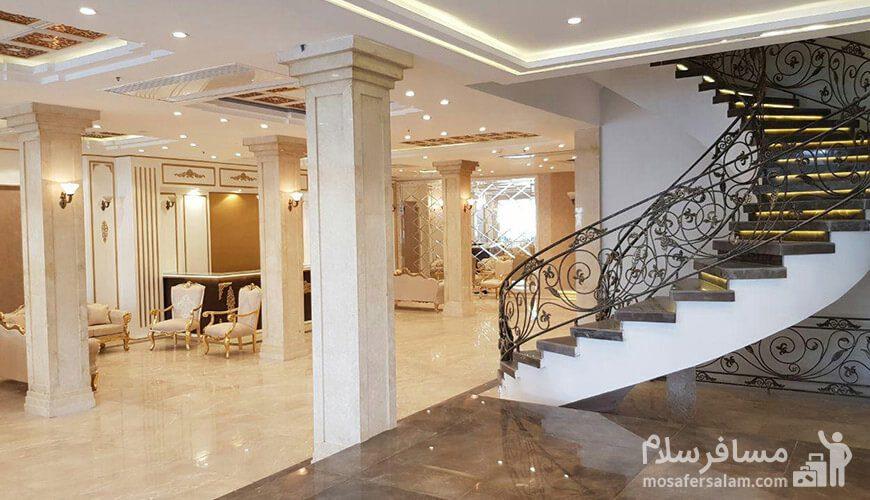 هتل نسیم مشهد پله های لابی