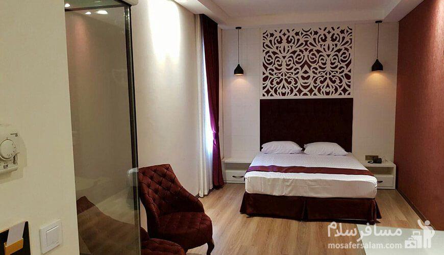 هتل نسیم مشهد اتاق دوتخته دبل