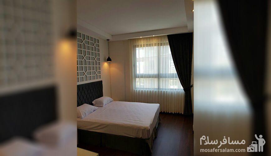 دوتخته دبل هتل نسیم مشهد
