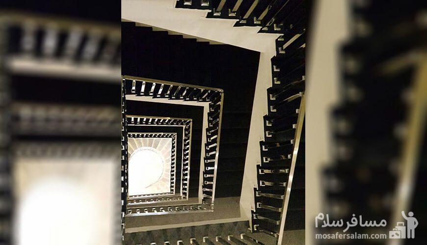 هتل نسیم مشهد پله ها